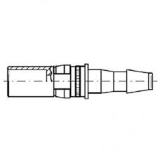 Pneumatic Straight Socket Contact (PU2)