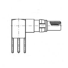 Right Angle PCB Plug (50Ω)