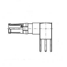 Right Angle PCB Socket (50Ω)
