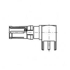 Right Angle PCB Socket Short (50Ω)