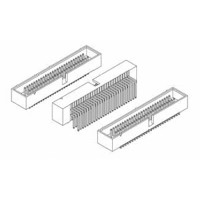 "Card Edge Header 1.27mm [.0.50""] Contact Centres Shrouded, 2.54mm [.100""] Row Spacing (Male)"
