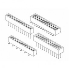 "Card Edge Header 1.00mm [.0.39""] Contact Centres (Female)"