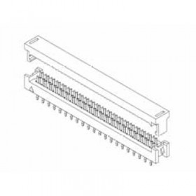 "Card Edge Header 2.54mm [.100""] Contact Centres (Female)"