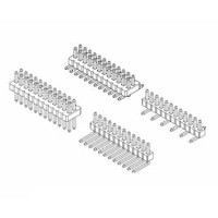 "Card Edge Header 1.00mm [.0.39""] Contact Centres (Male)"