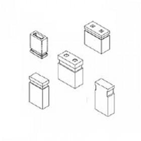 "Card Edge Header 2.54mm [.100""] Contact Centres Open/Closed Top Jumper"