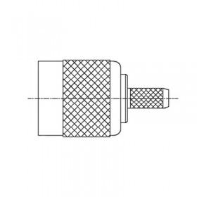 TNC Crimp Plug