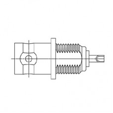 XBT-1005-NGAA - BNC Bulkhead Socket