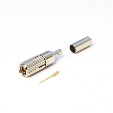 XGT-8015-NGBA - DIN 1.0 / 2.3 Screw On Cable Mounted Plug