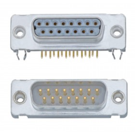 Standard D Subminiature Connector - Low Profile