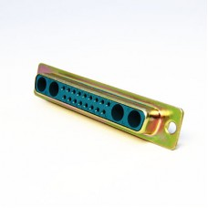 Mixed Layout D Subminiature Crimp Connector Shell