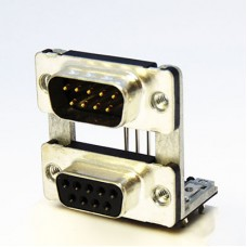 Piggyback Dual Port D Subminiature Connectors