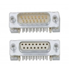 Standard D Subminiature Connector - Surface Mount